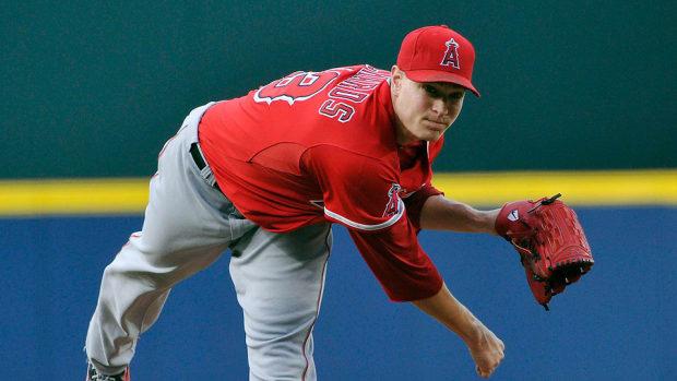 Garrett Richards fantasy baseball pitching report