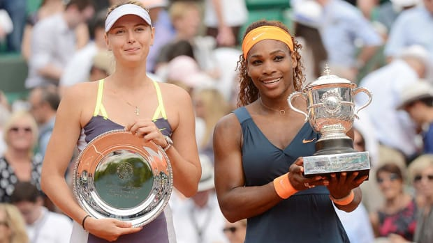Maria Sharapova Serena Williams Wuhan Open