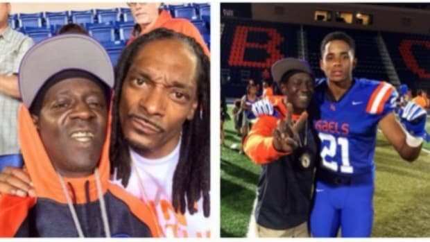 Snoop Dogg made a song for his son's high school football team, Bishop Gorman