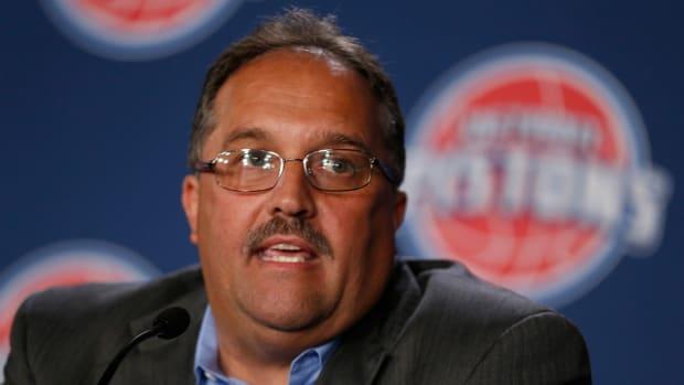 Detroit Pistons' Stan Van Gundy
