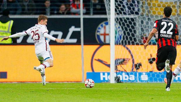 Thomas Muller vs. Eintracht