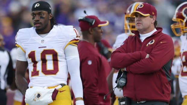 Redskins coach Jay Gruden: Criticizing RGIII a 'mistake' IMAGE
