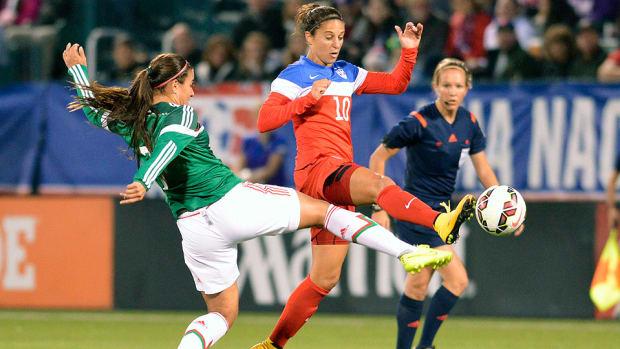 Carli Lloyd US Womens National Team friendly Mexico