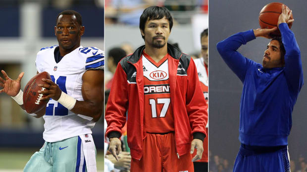 Drake air balls, Manny Pacquiao boxer to baller, Joseph Randle's redemption - Image