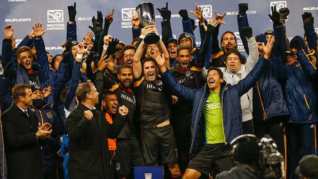 LA Galaxy win Western Conference