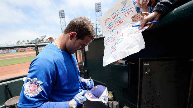 Anthony Rizzo on being an inspiration for Cubs fans