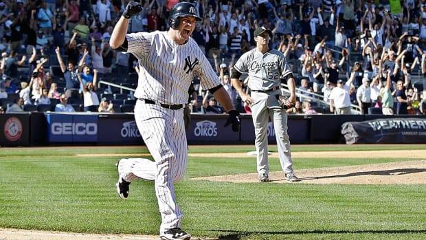 Brian McCann walk-off home run Yankees sweep White Sox