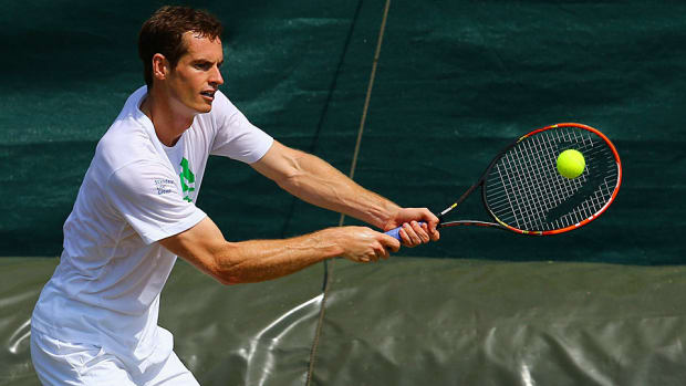 Andy Murray 2014 Wimbledon preparations