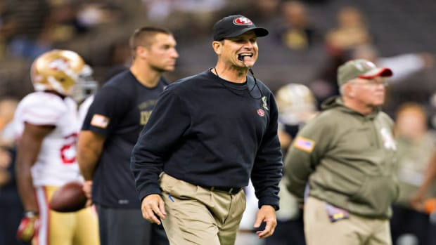 Jim Harbaugh 49ers Dolphins