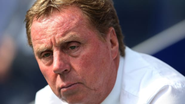 QPR coach Harry Redknapp