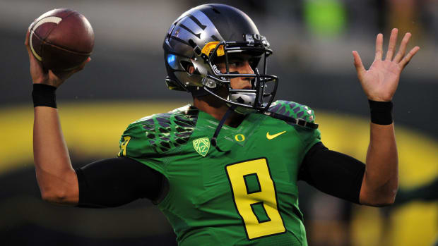 Oregon ducks Marcus Mariota nfl draft insurance