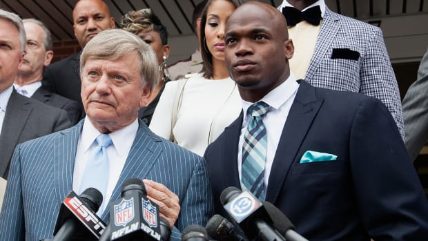 Can Adrian Peterson win his lawsuit against the NFL?