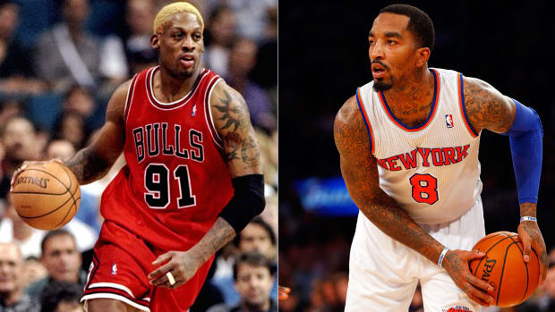 Fair to compare J.R. Smith and Dennis Rodman?