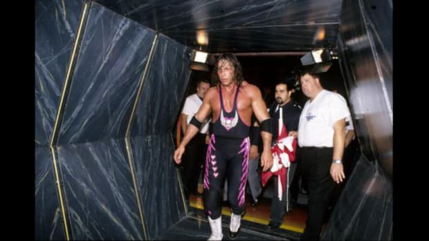"Bret Hart talks about the ""Montreal Screwjob"" at Survivor series 1997"
