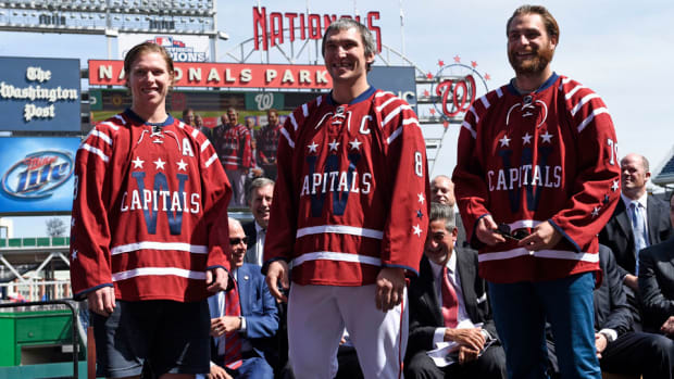 Washington Capitals Winter Classic jerseys