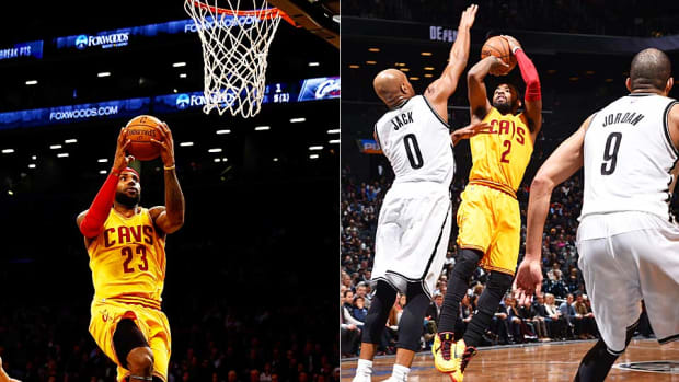 Lebron Kyrie tandem vs. Nets
