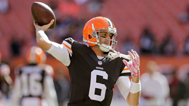 Browns' Mike Pettine: Brian Hoyer 'still firmly our starter'