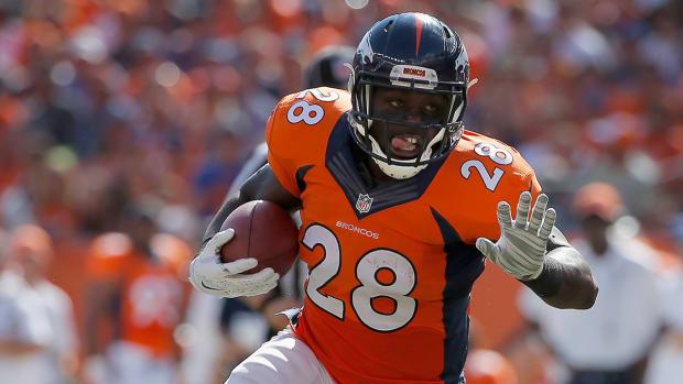 Broncos' Montee Ball returns to practice IMAGE