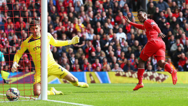 Daniel Sturridge goal Liverpool Southampton