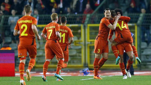 Belgium Goal Friendly