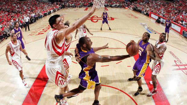 Yao Ming admires Kobe Bryant's courage