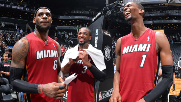 "Miami Heat's ""Big 3"" opts out"