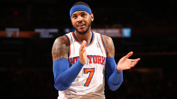 Carmelo Anthony Knicks New York