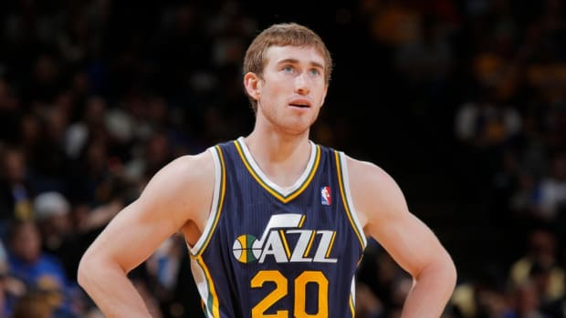 Jazz forward Gordon Hayward says he could beat LeBron James in League of Legends