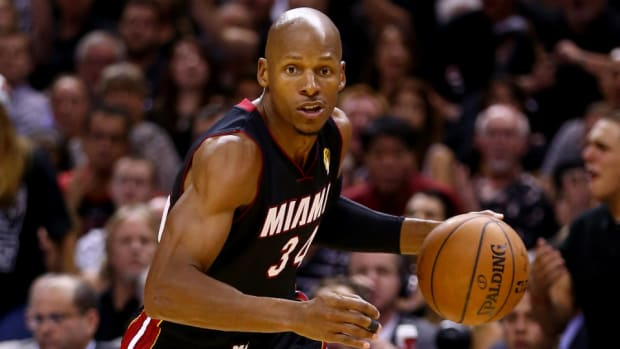 Free agent guard Ray Allen