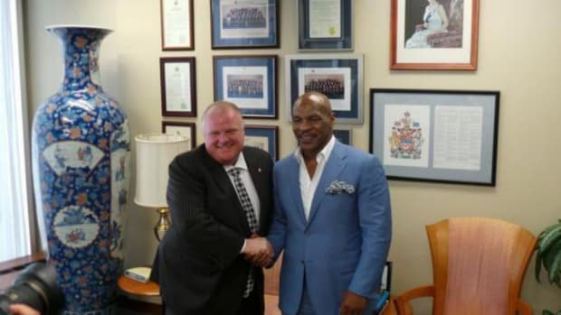 Mike Tyson met Rob Ford