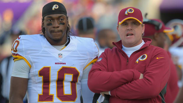 Conflicting reports emerge on Washington's plan for Robert Griffin III IMAGE