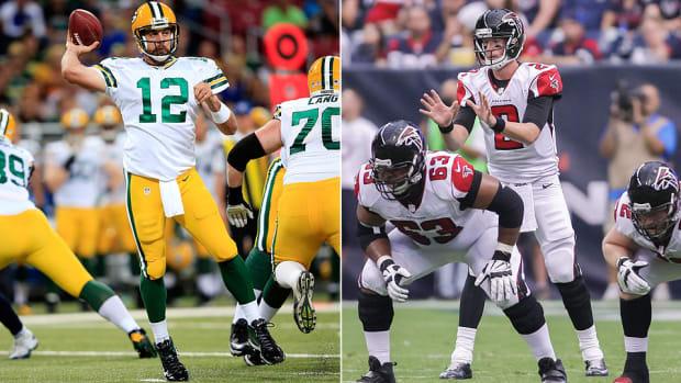 Aaron Rodgers, Matt Ryan near top of fantasy football two-quarterback league rankings