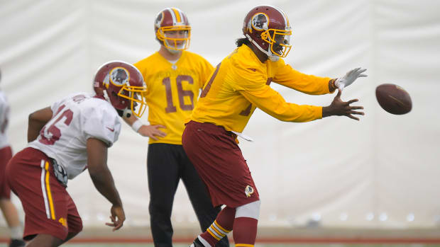 Robert Griffin III to start Sunday IMAGE