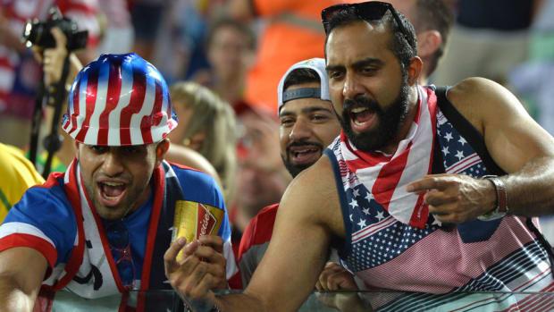 U.S. fans arrive in Natal