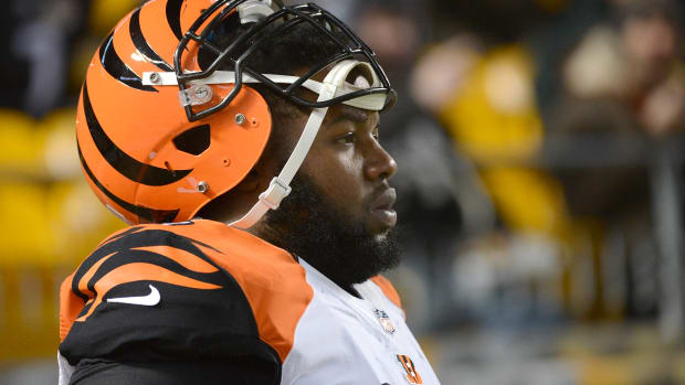 Cincinnati Bengals Marvin Lewis Andre Smith