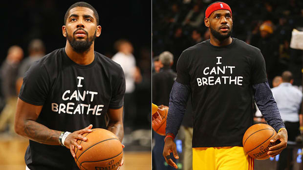 Kyrie Irving LeBron James I Can't Breathe