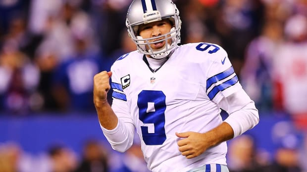 Tony Romo passes Troy Aikman as Cowboys franchise passing leader IMAGE