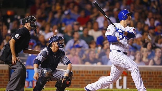 Anthony Rizzo Cubs home run