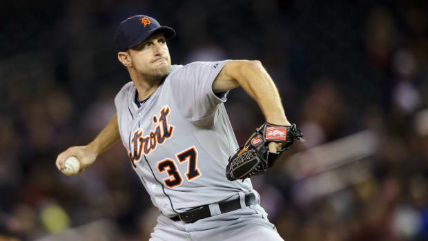 Detroit Tigers rotation ALDS, Max Scherzer Game 1