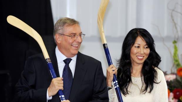 Terry and Kim Pegula
