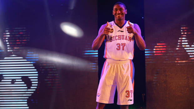 Metta World Peace joined Chinese team to improve 'individual game'