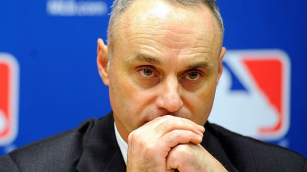 Rob Manfred has been MLB's chief operating officer since the end of the 2013 season. (Patrick McDermott/Getty Images)