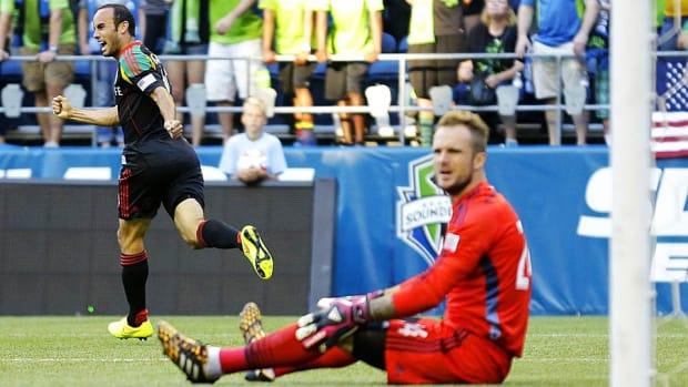 Landon Donovan Los Angeles Galaxy vs Sounders