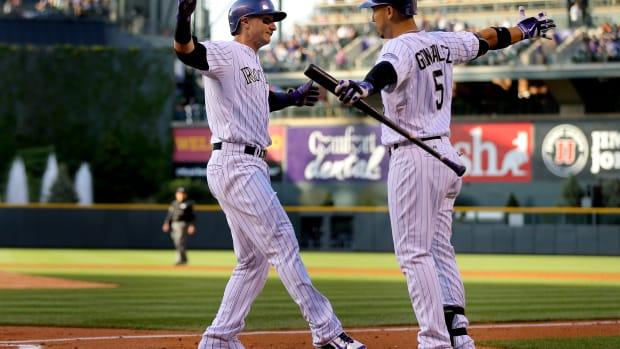 Troy Tulowitzki Carlos Gomez Colorado Rockies trade New York Mets