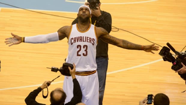 LeBron James is keeping the Chalk toss