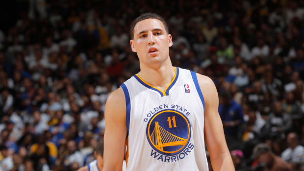 klay thompson pissed golden state warriors