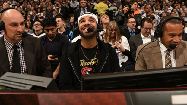 Drake mixes up Adam Silver and Donald Sterling
