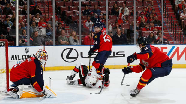 Florida Panthers low attendance record