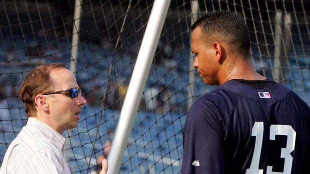 Cashman: Alex Rodriguez will play DH for Yankees IMAGE