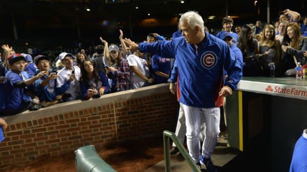 Former Cubs manager Rick Renteria